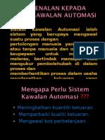 Pengenalan Kepada Sistem Kawalan Automasi