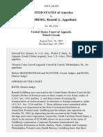 United States v. Goldberg, Ronald J., 830 F.2d 459, 3rd Cir. (1987)
