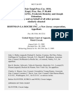 48 Fair empl.prac.cas. 1010, 48 Empl. Prac. Dec. P 38,460 Richard Sperling, Frederick Hemsley and Joseph Zelauskas, Individually and on Behalf of All Other Persons Similarly Situated v. Hoffman-La Roche Inc., a New Jersey Corporation, 862 F.2d 439, 3rd Cir. (1989)