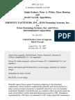 Robert Hozier, Ralph Kohart, Peter A. White, Marc Duning and David Carroll v. Midwest Fasteners, Inc., Ksm Fastening Systems, Inc. T/a Erico Fastening Systems, Inc. And Erico International Corporation, 908 F.2d 1155, 3rd Cir. (1990)