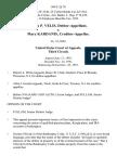 Kosta P. Velis, Debtor-Appellant v. Mary Kardanis, Creditor-Appellee, 949 F.2d 78, 3rd Cir. (1991)