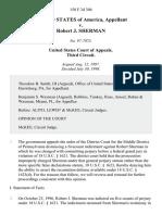 United States v. Robert J. Sherman, 150 F.3d 306, 3rd Cir. (1998)