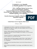 Peter J. Dahlen, Peter J. Dahlen, Plaintiff-Appellant-Cross-Appellee v. Gulf Crews, Inc. Gulf Boat Marine Services, Inc. Defendants-Cross-Defendants-Appellees, Universal Ogden Services, Forest Oil Corp., Defendant-Cross-Claimant-Third Party Plaintiff-Appellee-Cross-Appellant v. Security Insurance Company of Hartford, Third Party, 281 F.3d 487, 3rd Cir. (2002)