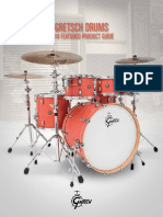 Gretsch Pricelist Featured Product Guide 2014