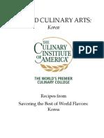 WCA Korean Recipes