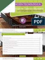 Diseño manual para la evaluación de desempeño