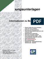 Bewerber Infos