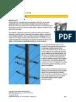 Pole Line Hardware Fail Safe Bases