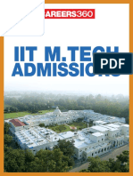 IIT M.tech Admission 2015