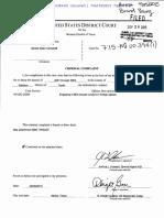 Gerald Campbell Criminal Complaint