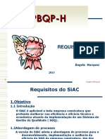 PBQP H Requisitos
