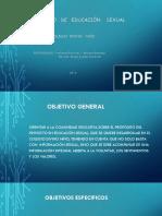 Proyecto Educacion Sexual Diapositivas
