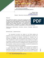 De La Caja a La Vidriera Los Manuscritos de Escritor en Acceso Abierto