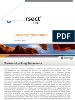 Intersect ENT ($XENT) Overview