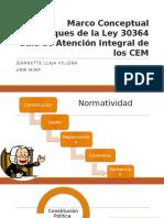 Marco Conceptual de Enfoques Ley 30364