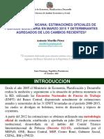 Cifras Oficiales Pobreza Monetaria Rd Hasta Marzo 2015