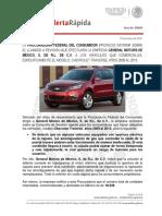 Alerta 2 General Motors de México