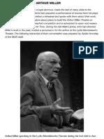 An Interview With Arthur Miller