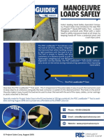 The PSC LoadGuider Hand Safety Tool, 2016