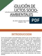 Tema 12- Conflictos Socio-Ambientales