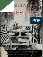 Oresteia by Aeschylus, Peter Meineck