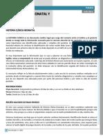 Pediatria - Historia Clinica Neonatal Y Perinatal