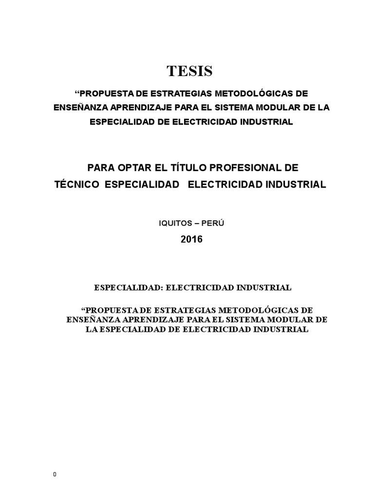153272058 Tesis Electricidad