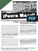 Fuera Macri
