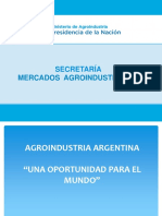 Perspectivas agroindustriales
