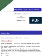 Clock Beamer Example