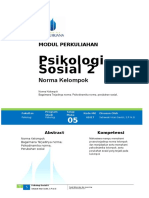 Modul 5 Psikologi Sosial 2
