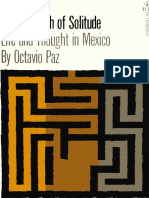 Paz, Octavio - Labyrinth of Solitude (Grove, 1961)