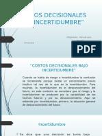 Listo Costos Decisionales Bajo Incertidumbre