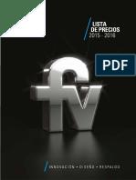 2015-2016 Precios FV Ecuador