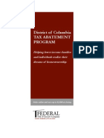 Understanding DC Tax Abatement