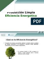 Produccion limpia, eficiencia energetica
