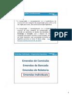 EMENDAS CONSTITUCIONAIS 85 E 86/2015