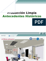 Antecedentes historicos de la produccion limpia