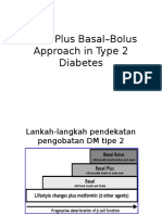 Basal Plus Basal–Bolus Approach in Type 2 Diabetes