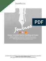 Journos 2016 Invitation