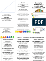 TRIPTICO Semana Academica _ago-Dic_2015