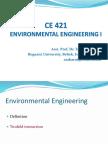 Presentation on Environmental Engineering