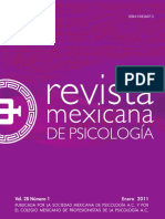 Revista Mexicana de Psicologia Vol 28 No 1