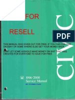 1996 2000 Honda Civic Service Manual