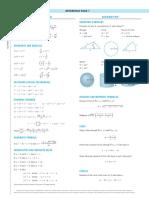 Formulario Tecnicas de Calculo