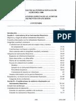 Npia 1000 Consideraciones Especiales Al Auditar Instrumentos Financieros