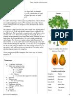 Papaya - Wikipedia, The Free Encyclopedia