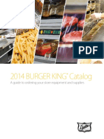 2014 - Burguer King Catalog