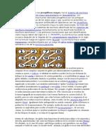 Escritura y Numeracion Maya
