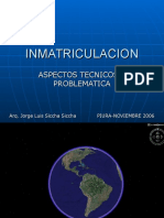 Inmatriculacion